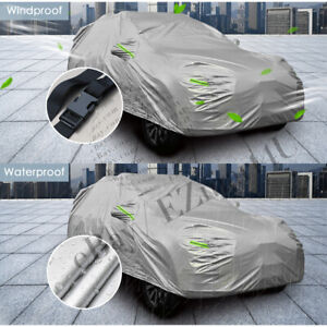 Fit SUV/JEEP Car Cover Outdoor Waterproof UV Universal Rain weather Protection