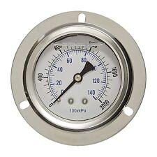 """Karcher 8.710-257.0 2000 PSI 2-1/2"""" Back Mount Pressure Gauge (202L-254O)"""
