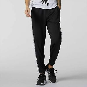 New Balance Relentless Pants Women's Black White Casual Sportswear Activewear