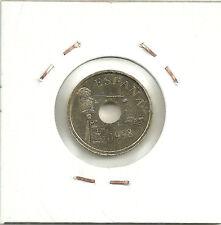 MONEDA DE 25 PESETAS DE 1998 (EXCESO DE METAL) ERROR COIN