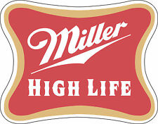 "Miller  Alcohol Sticker - wall, window, vinyl sticker 5""x 4"""
