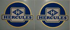 Hercules BW 125, K 180, Tankaufkleber, Aufkleber, Emblem, Decor, 2 Stück