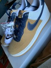 Nike Air Force 1 Low 07 Men's Basketball Shoes Wheat Obsidian White