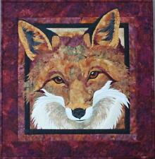 Red Fox Toni Whitney Fusible Applique Quilting Quilt Pattern + Fabric Kit