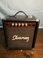 Ibanez Acoustic Guitar Amplifier Amp Vintage Speaker Model IBZ10A 12W Power 60Hz
