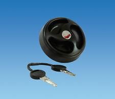 Caravan /  Motorhome Water Filler Cap In Black With 2 x Keys ES2150