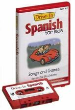 Drive-In Spanish for Kids Songs and Games for On-the-Go Children Cassette