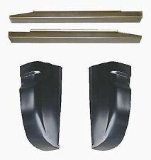 1988-1998 CHEVROLET C/K 1500 ROCKER PANELS & CAB CORNERS PAIR
