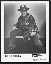 VINTAGE ORIGINAL Ltd Edition Promo Photo 8x10 Bo Didley c1992 Near Mint