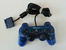 Sony PlayStation Clear Blue Analog Controller