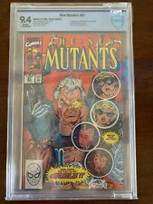 New Mutants 87 CBCS Not CGC 9.4 |1st Cable, Stryfe & Mutant Liberation Front