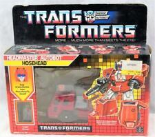 Transformers Original G1 1988 Headmaster Hosehead Complete w/ Box Bubble
