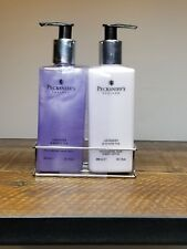 Pecksniff's Lavender & White Tea Hand Care Duo Wash & Lotion Gift Set with Caddy