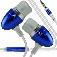 Double Paquet - Bleu Mains-libres Écouteurs Avec Micro Pour Apple Iphone 6 Plus
