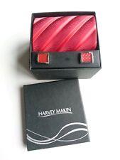 New Harvey Makin Tie & Cufflink Gift Set in presentation box.