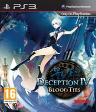 PS3 Game Deception IV: Blood Ties NEW