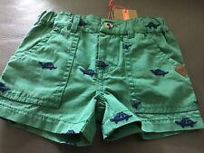 BNWT John Lewis 0-3 Months organic cotton shorts with turtles