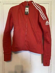 Adidas Ladies Z.N.E Red Hoodie S