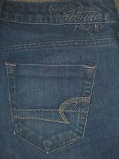 AMERICAN EAGLE True Boot Stretch Denim Jeans Womens Size 0 x 31.5