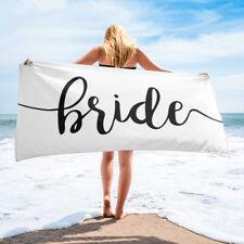 Bride Towel, Bride Towels, Bride Beach Towel, Beach Bachelorette Party