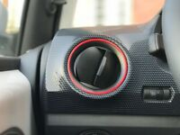 2x Volkswagen VW UP Seat Mii Skoda Citigo farbige Lüftungsringe nach Wunsch