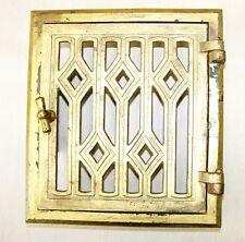 Alte durchbrochene Ofenklappe Ofentür, Ofen antik Jugendstil