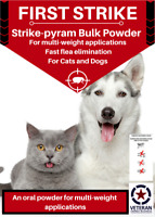 580 doses Flea Killer for Dogs and Cats 3500 mg
