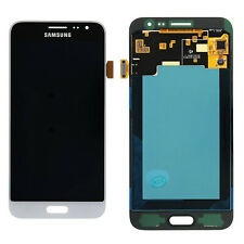 DISPLAY TOUCHSCREEN OLED ORIGINALE SAMSUNG GALAXY J3 2016 SM-J320FN BIANCO VETRO