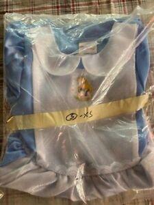 Disney Store Alice In Wonderland Costume Dress Girl's Size XSmall 4/5  NIB MINT