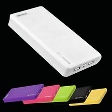 12000mAh Portable External Dual USB Power Bank Battery Pack Iphone Mobile Charge