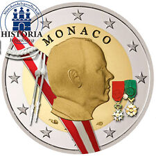 Monaco 2 EURO MONETA COMMEMORATIVA 2009 stgl. Fürst Albert II. Grimaldi in colore