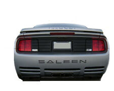 Ford Mustang Saleen ABS Chrome Rear Bumper Letter Inserts Decals Stickers