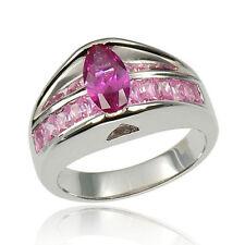 Modeschmuck-Ringe aus Edelstein mit Saphir