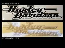2 x 160mm  HARLEY DAVIDSON style Tank decal chopper various colours