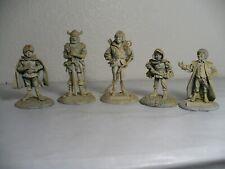 5 Lord of the Rings metal figures Elan Merch 1978