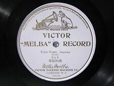 78rpm NELLIE MELBA sings RIGOLETTO - MAUVE VICTOR MELBA RECORD 95018