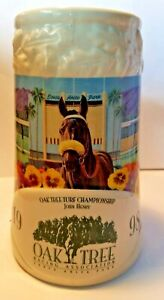 Oak Tree Horse Race Limited Edition Ceramic Steins