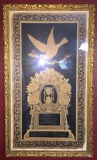 Antique Haunted 1899 Family death framed Memory Mother and Child One Year apart!