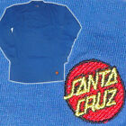 SANTA CRUZ DE LOS AÑOS 80 Skate Camiseta manga larga - Bordado Puntos Logo -