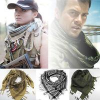Fashion Army Military Tactical Keffiyeh Arab Scarf Shawl Neck Cover Head Wrap