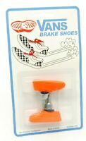 Kool Stop bicycle bike Vans BMX THREADED brake pads ORANGE (PAIR) MADE IN USA