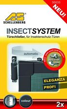 Schellenberg Türschließer für Insektenschutzfenster + Insektenschutztür NEU