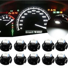 10x T4.7 T5 Neo Wedge Side LED Bulb Dash Dashboard Climate Instrument Base Light
