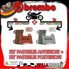 BRPADS-15539 KIT PASTIGLIE FRENO BREMBO KTM SX 2004-2010 85CC [SD+SX] ANT + POST