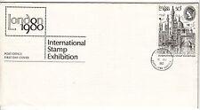 LETTRE FDC ROYAUME UNI SERIE TIMBRE 931 LONDON LONDRE EXPO PHILATHELIQUE 1980