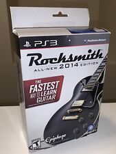 Rocksmith w/ Real tone cable 2014 Edition (Sony PlayStation 3, 2013)