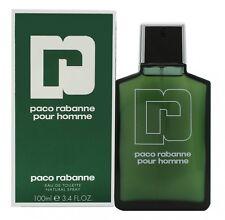 PACO RABANNE POUR HOMME EAU DE TOILETTE EDT 100ML SPRAY - MEN'S FOR HIM. NEW