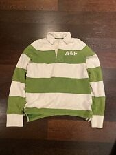 New listing abercrombie and fitch long sleeve rugby shirt mens large