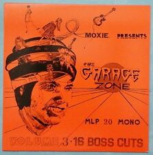 VARIOUS ARTISTS ~ MOXIE PRESENTS: THE GARAGE ZONE VOLUME 3 ~ 1990 US 16-TRACK LP