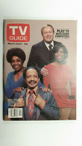 TV GUIDE Canada Cast of THE JEFFERSONS   Vol 4 #22 - May 31 1980 - Issue No. 179